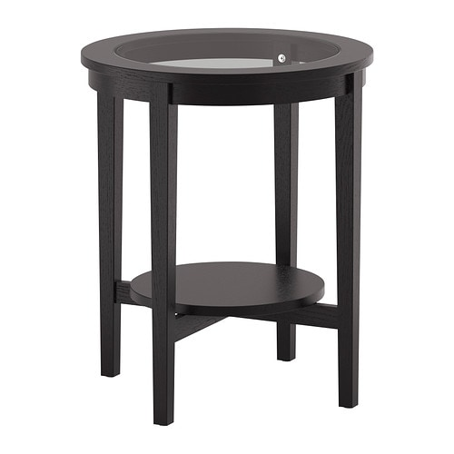 Cleaning Black Kitchen Table: MALMSTA Side Table Black-brown 54 Cm