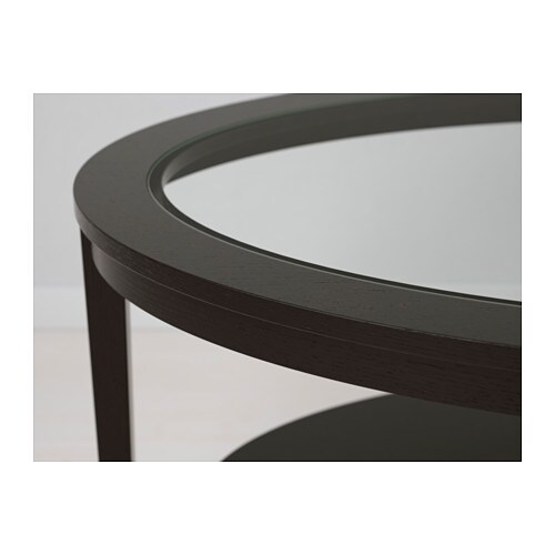 IKEA MALMSTA Side Table Veneered Surface; Gives The Table A Natural Look  And Feel.