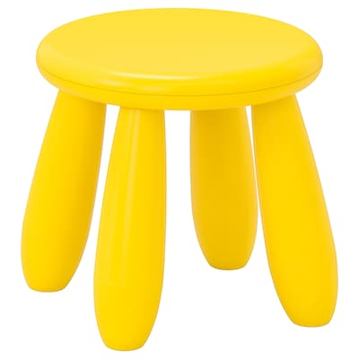 MAMMUT Children's stool, in/outdoor/yellow