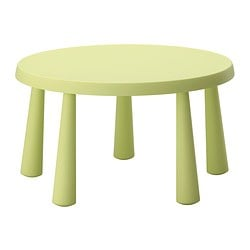 IKEA MAMMUT childrenu0027s table Made of plastic which makes it easy to carry  and move for