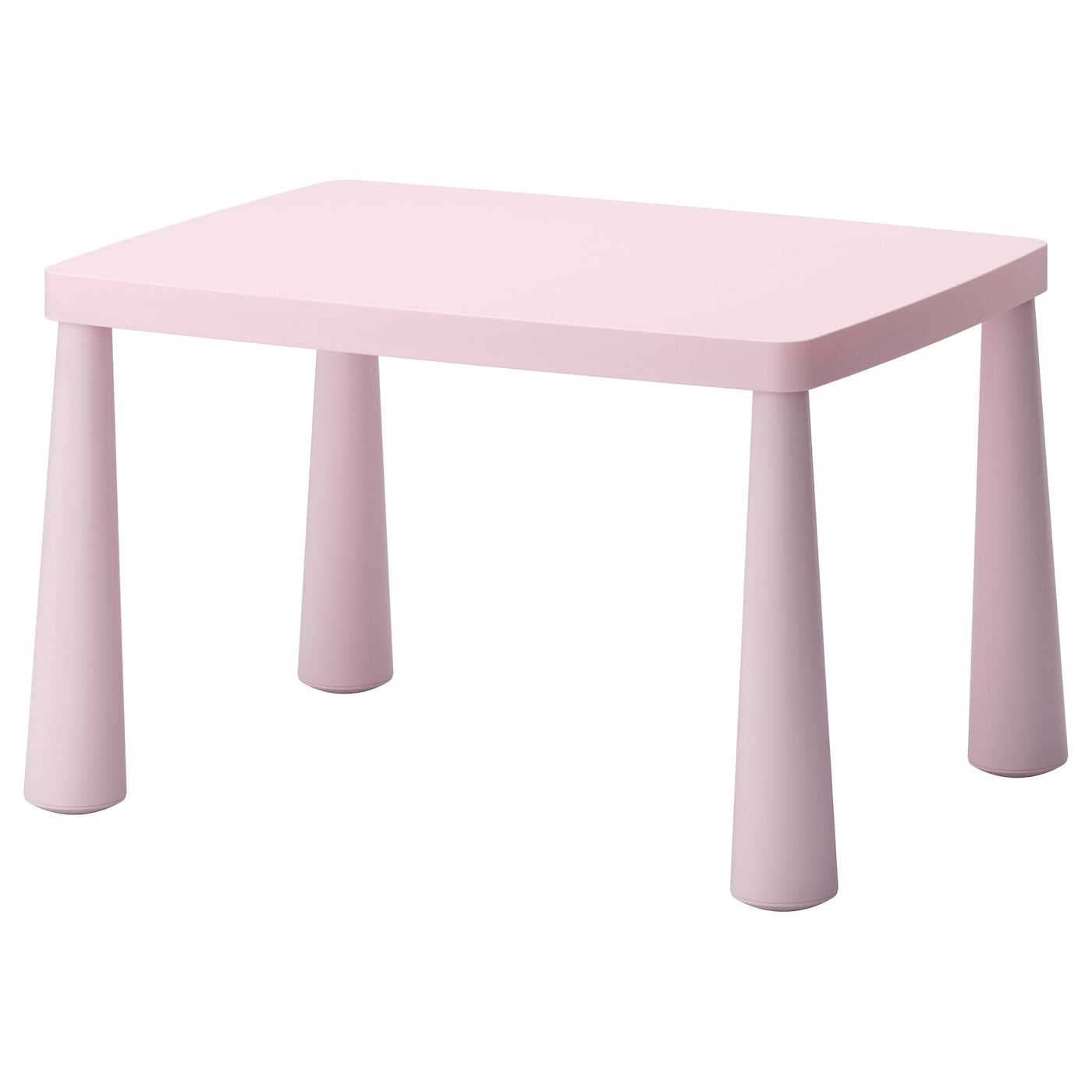 mammut children 39 s table in outdoor light pink 77x55 cm ikea. Black Bedroom Furniture Sets. Home Design Ideas