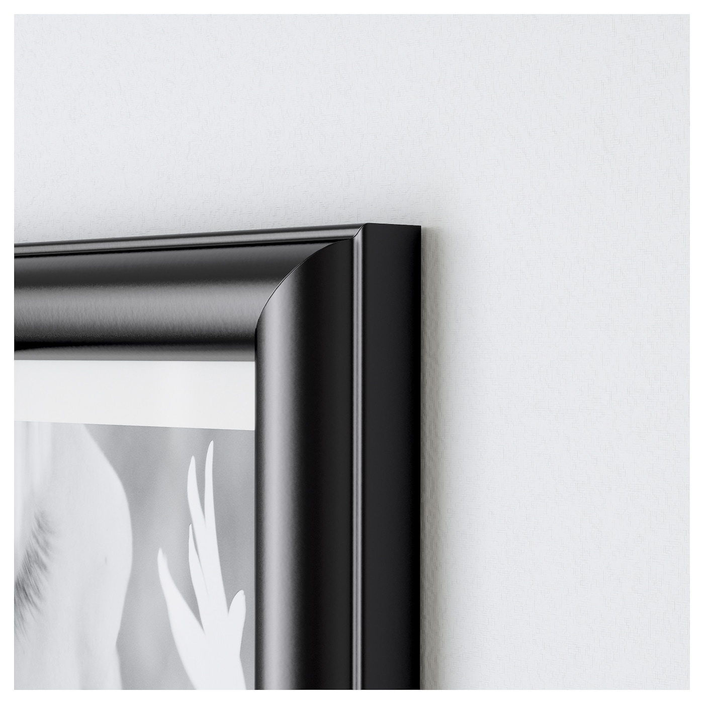 IKEA MARIETORP frame Can be hung horizontally or vertically to fit in the space available.