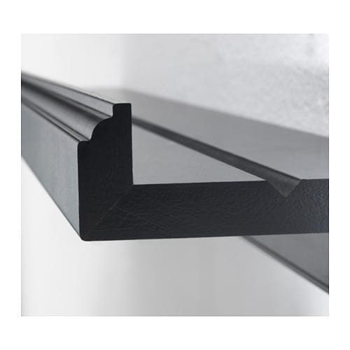 marietorp picture ledge black 75 cm ikea. Black Bedroom Furniture Sets. Home Design Ideas