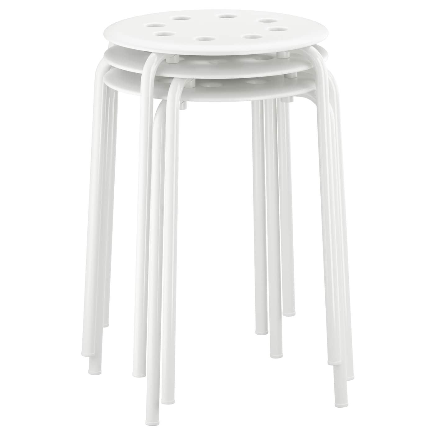 marius stool white ikea. Black Bedroom Furniture Sets. Home Design Ideas