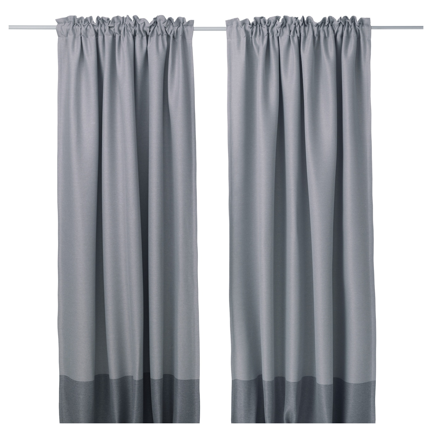 IKEA MARJUN Block Out Curtains 1 Pair The Can Be Used On A