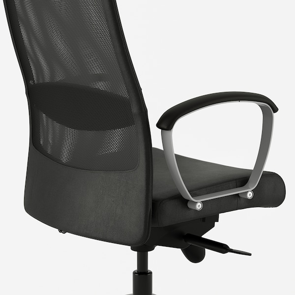 Markus Glose Black Robust Black Office Chair Ikea