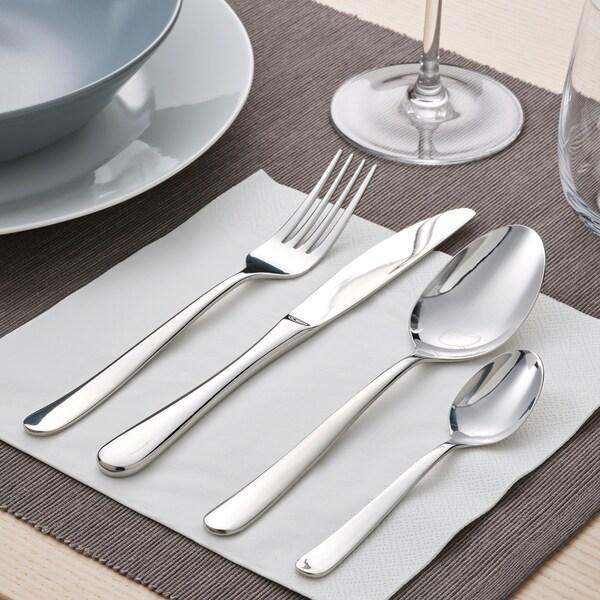 MARTORP 30-piece cutlery set, stainless steel