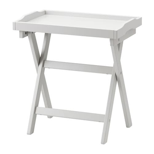 Ikea Folding Table With Drawers ~ IKEA MARYD tray table You can fold the table to put it away when it is