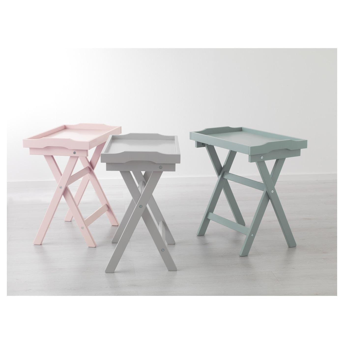 Maryd Tray Table Grey 58x38x58 Cm Ikea