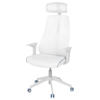 MATCHSPEL Gaming chair, Bomstad white