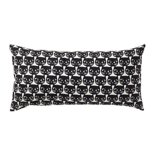 IKEA MATTRAM cushion The polyester filling holds its shape and gives your body soft support.