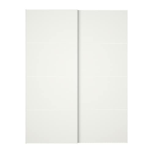 IKEA MEHAMN pair of sliding doors 10 year guarantee. Read about the terms in the guarantee brochure.