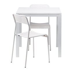 Ikea Melltorp Adde Table And 2 Chairs Seats 4