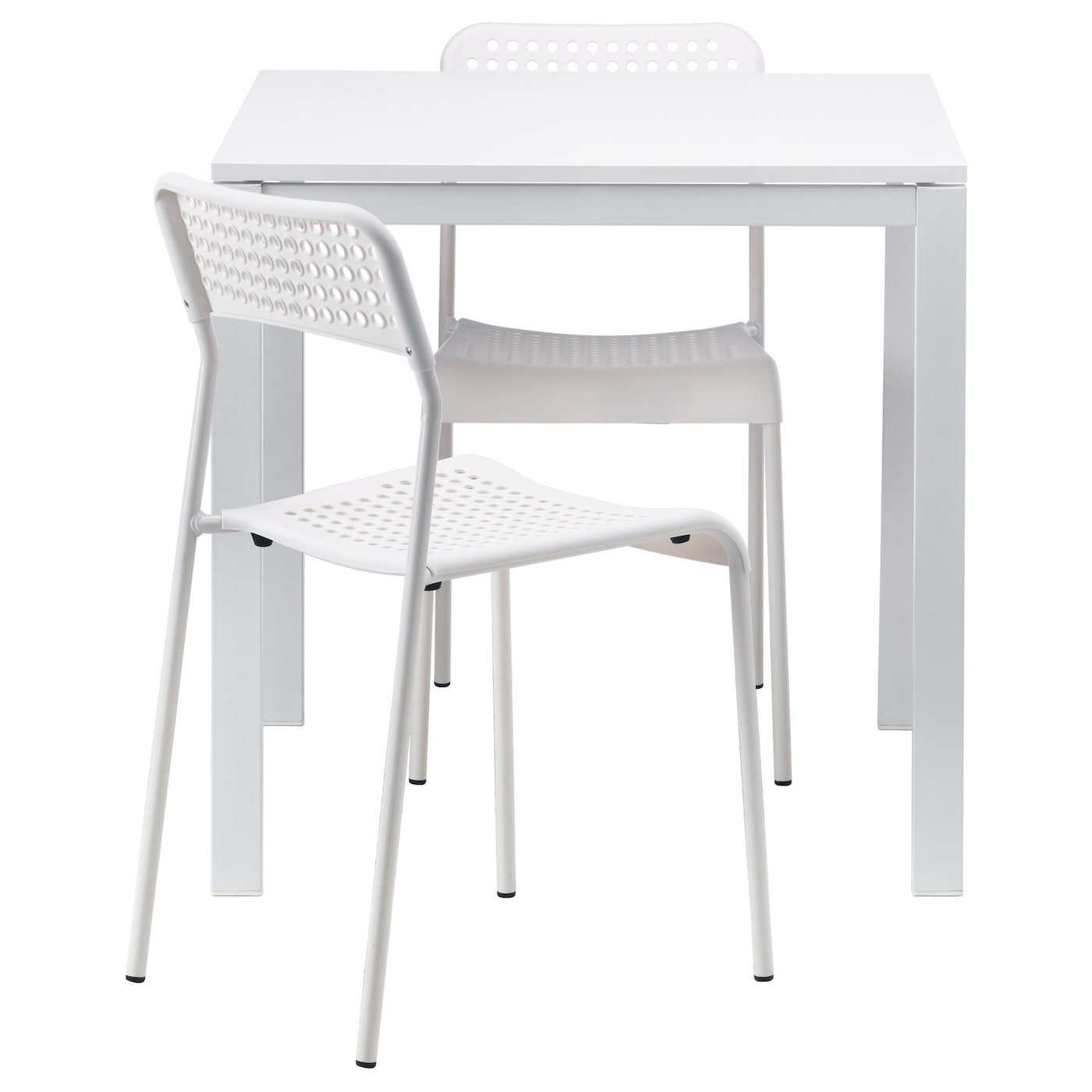 IKEA MELLTORP/ADDE table and 2 chairs Seats 4.