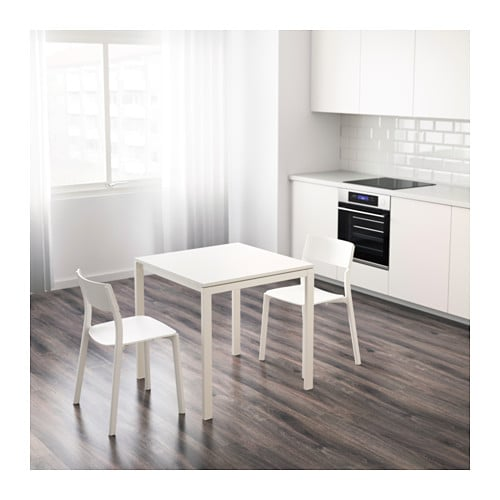 melltorp table white 75x75 cm ikea