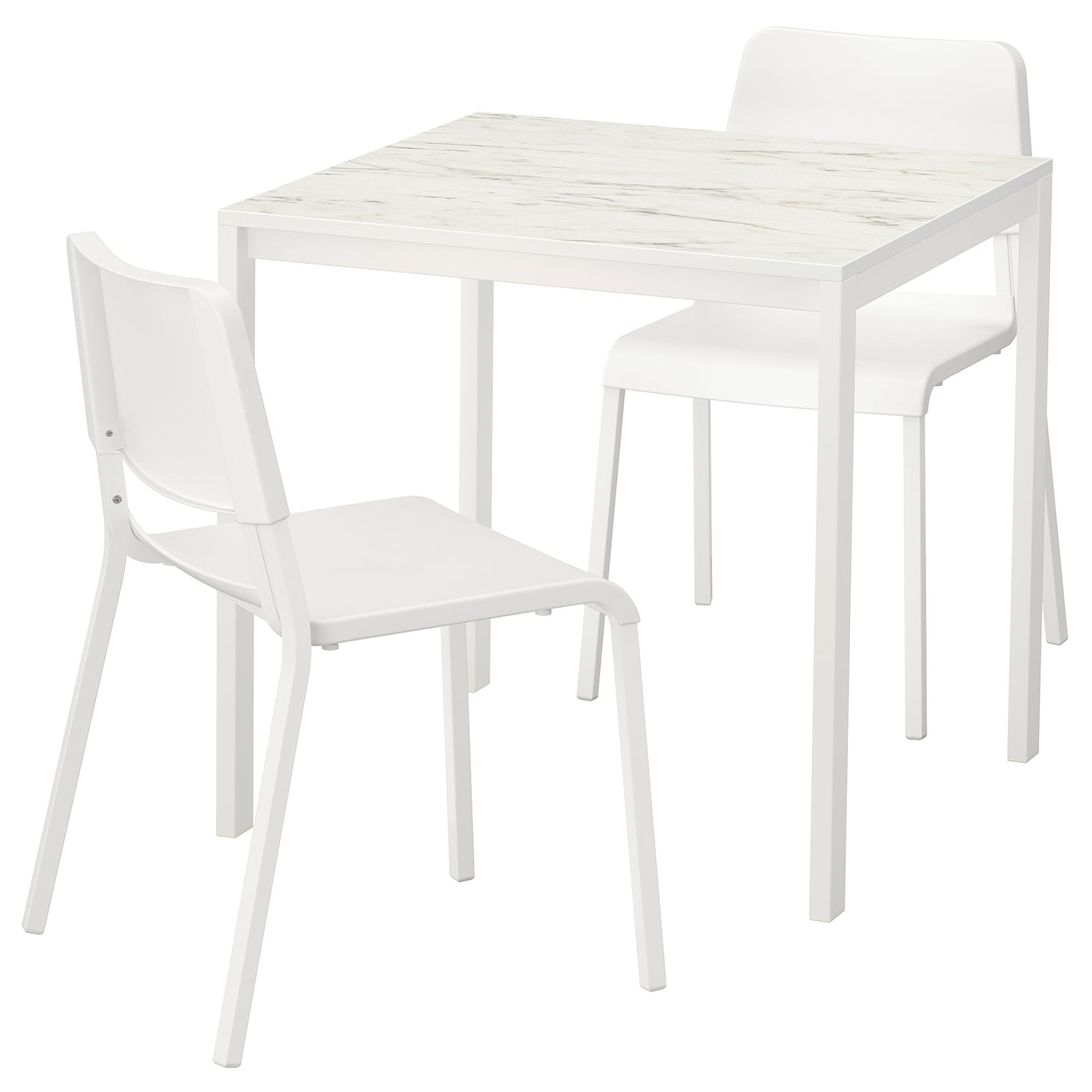 IKEA MELLTORP/TEODORES table and 2 chairs Seats 4.