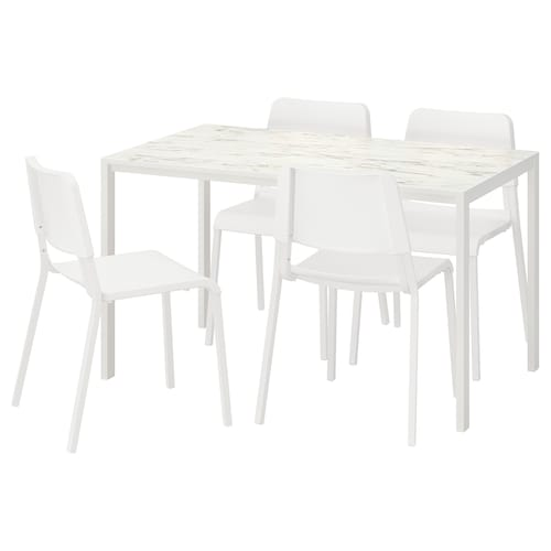 IKEA MELLTORP / TEODORES Table and 4 chairs