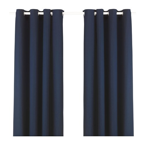IKEA MERETE curtains, 1 pair