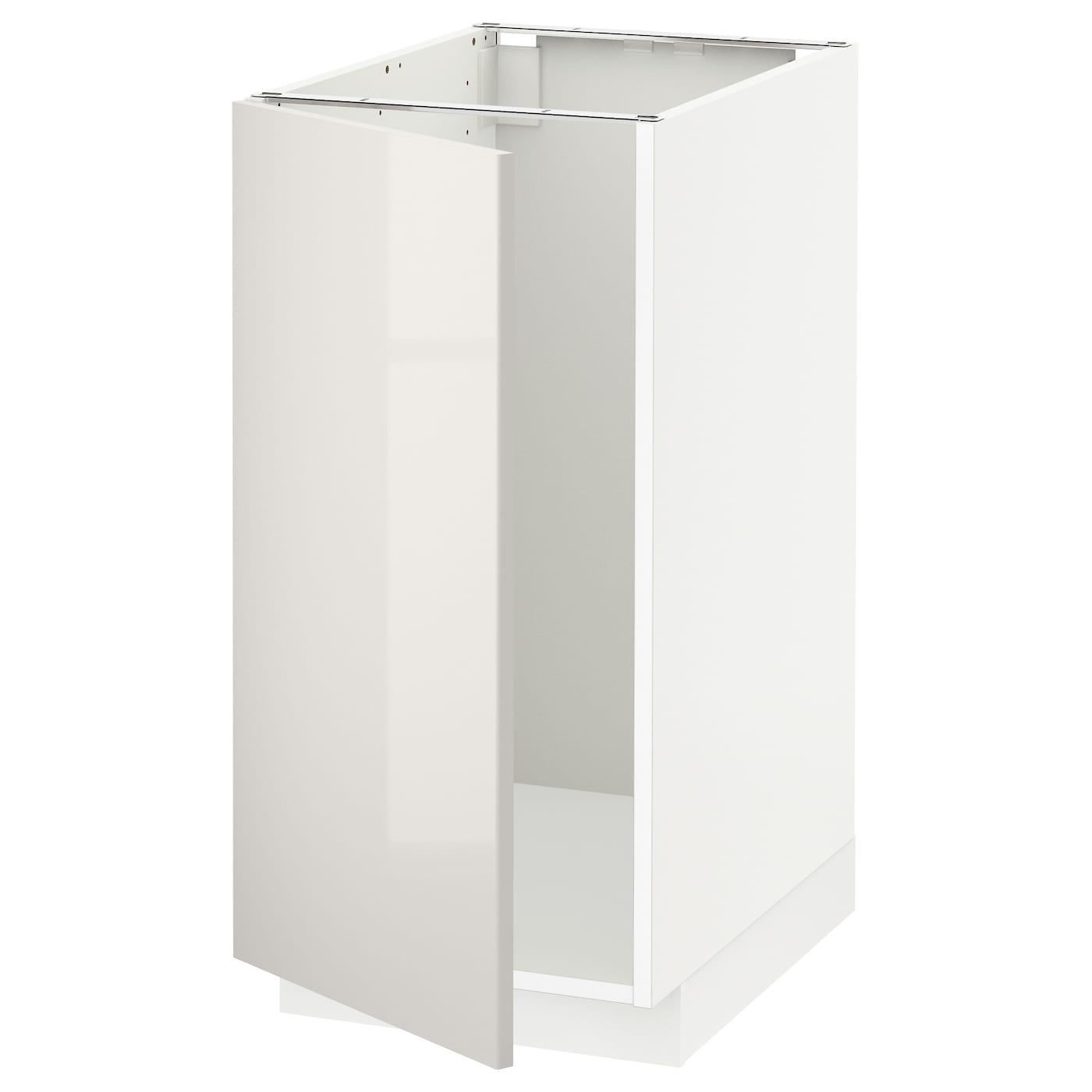 Ringhult Grey Kitchen: METOD Base Cab F Sink/waste Sorting White/ringhult Light