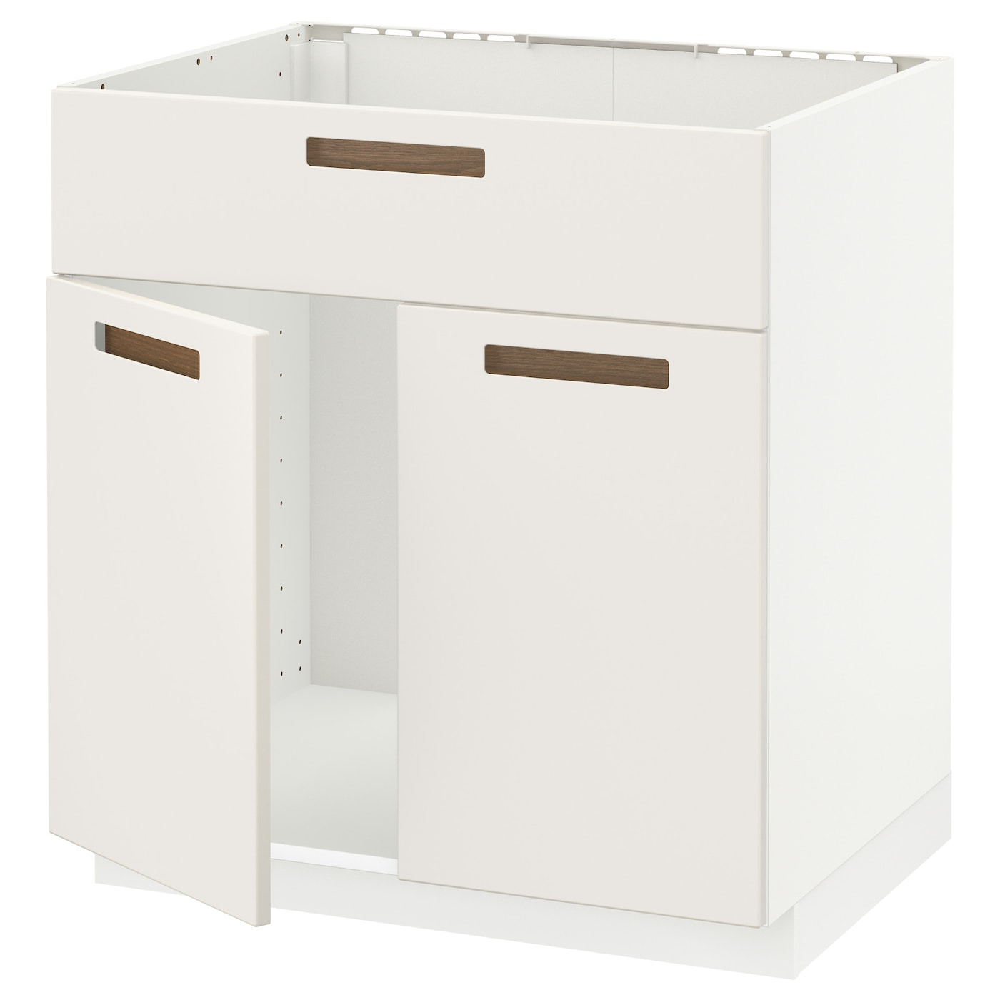 IKEA METOD base cabinet f sink w 2 doors/front Sturdy frame construction 18  sc 1 st  Ikea : kitchen sink units - hauntedcathouse.org
