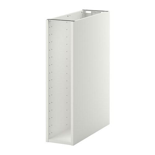 Metod Base Cabinet Frame White 20x60x80 Cm Ikea