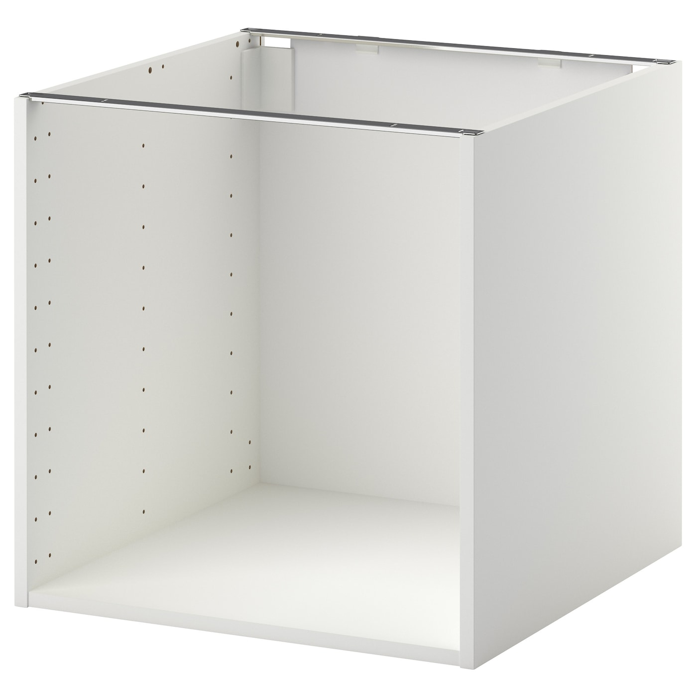metod base cabinet frame white 60x60x60 cm ikea. Black Bedroom Furniture Sets. Home Design Ideas