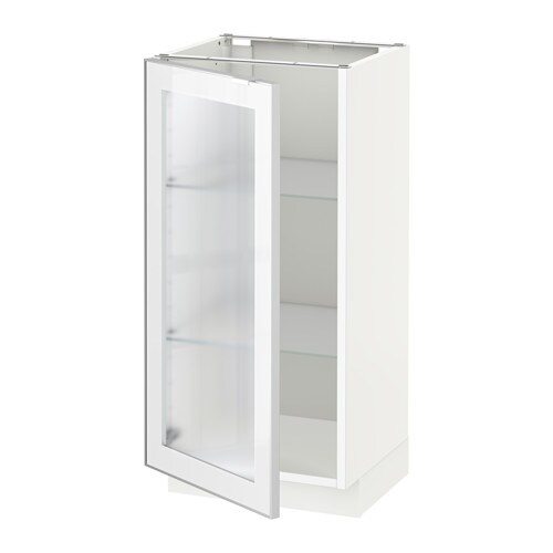 Merveilleux IKEA METOD Base Cabinet With Glass Door You Can Choose To Mount The Door On  The