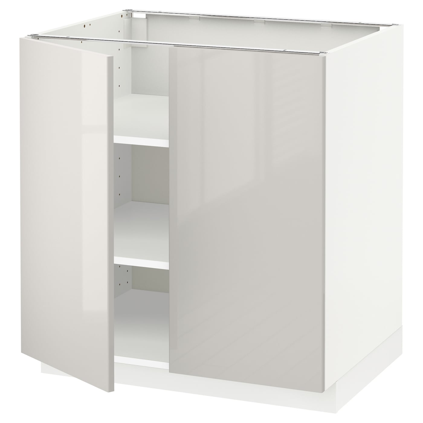 ikea bathroom cabinet white metod base cabinet with shelves 2 doors white ringhult 18809