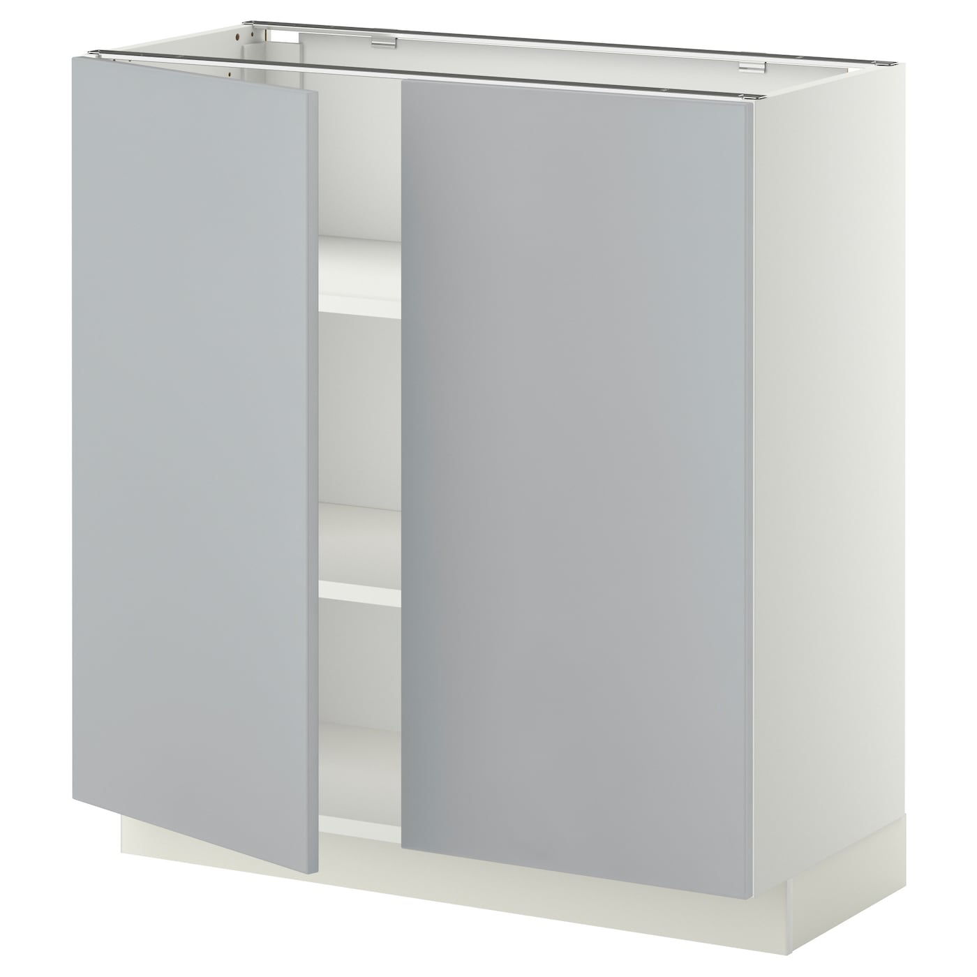 ikea bathroom cabinet doors metod base cabinet with shelves 2 doors white veddinge 17521