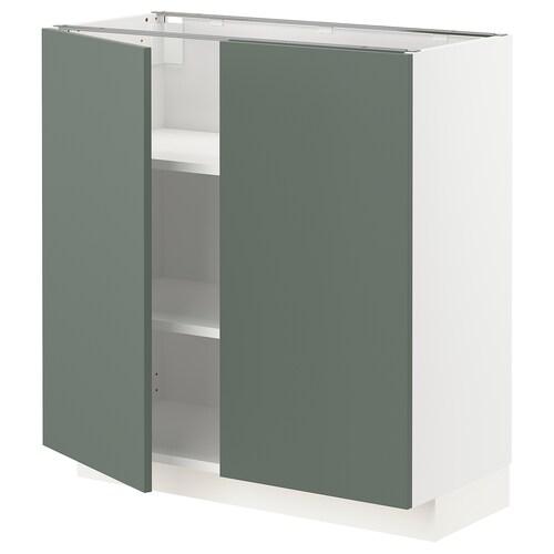 IKEA METOD Base cabinet with shelves/2 doors