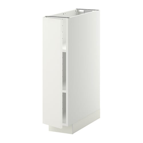 Metod Base Cabinet With Shelves White H Ggeby White 20x60
