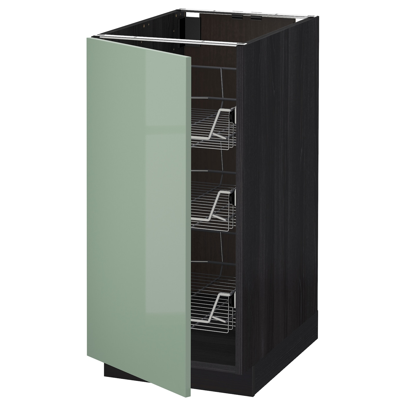 bathroom cabinet with baskets metod base cabinet with wire baskets black kallarp light 15597
