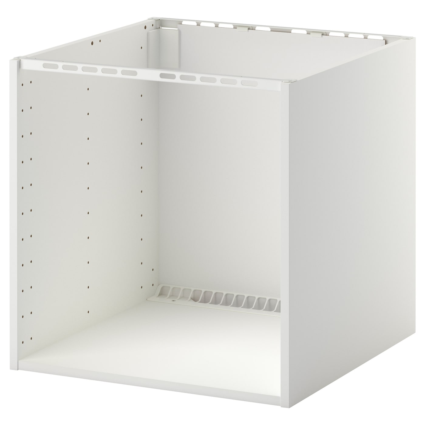 Metod cabinet for built in hob sink white 60x60x60 cm ikea for Ikea kuche metod