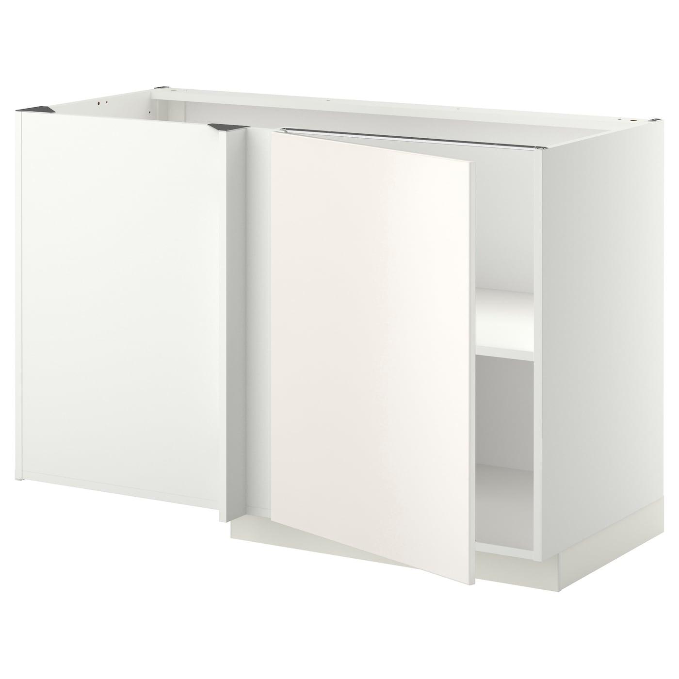 IKEA METOD Corner Base Cabinet With Shelf Adjustable Shelf; Adapt Spacing  According To Need.