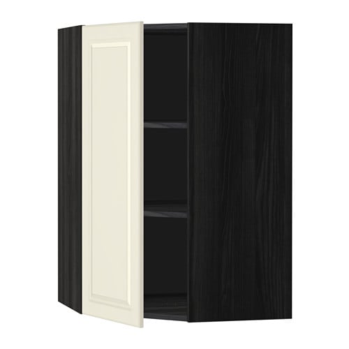 ikea metod corner wall cabinet with shelves sturdy frame construction