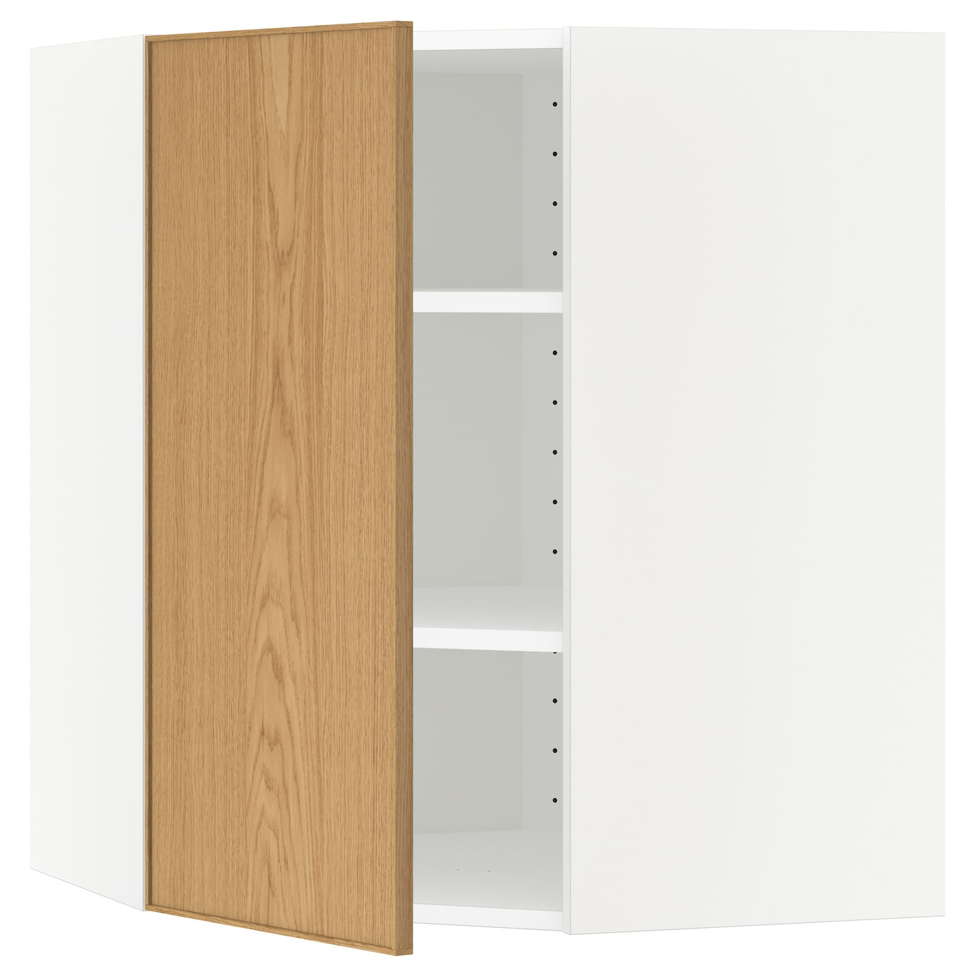 Ikea Metod Corner Wall Cabinet With Shelves Sy Frame Construction 18 Mm Thick