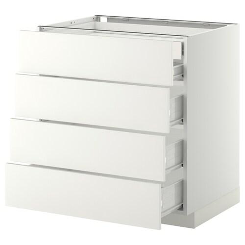 IKEA METOD / FÖRVARA Base cb 4 frnts/2 low/3 md drwrs