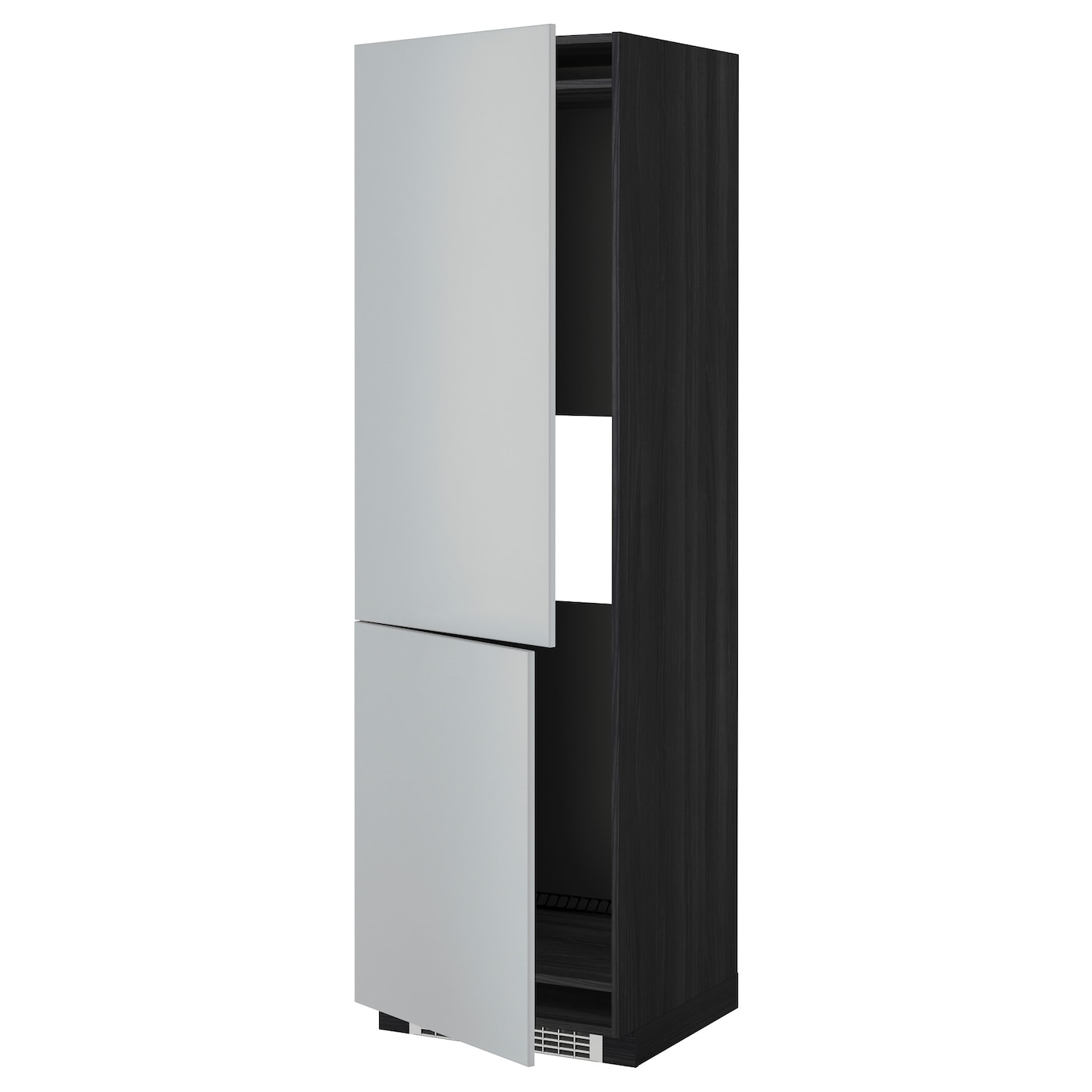 IKEA METOD hi cab f fridge or freezer w 2 drs Sturdy frame construction, 18 mm thick.