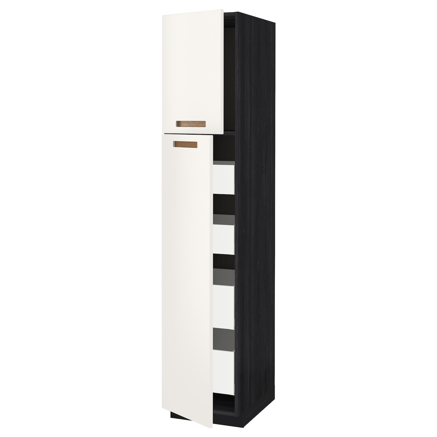 IKEA METOD hi cab w 2 doors/4 drawers You can choose to mount the door on the right or left side.