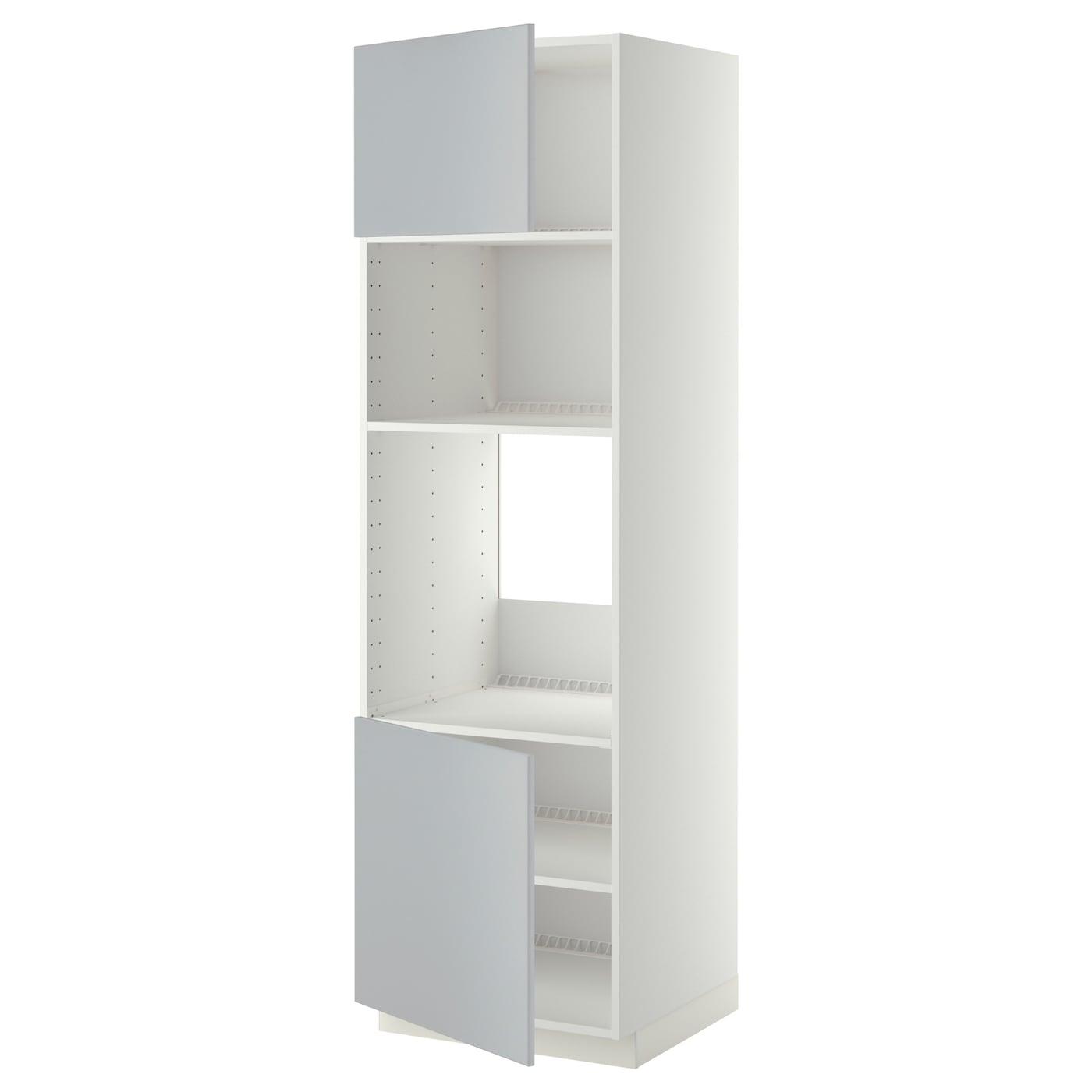 Metod hi cb f oven micro w 2 drs shelves white veddinge - Mobili x cucina ikea ...