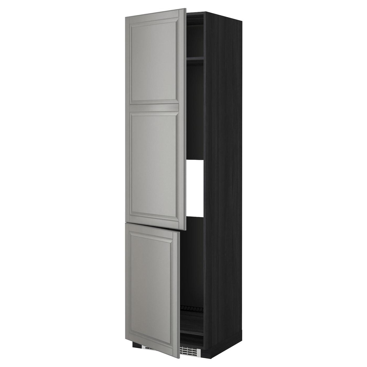 Metod high cab f fridge freezer w 2 doors black bodbyn - Mobile frigo incasso ...