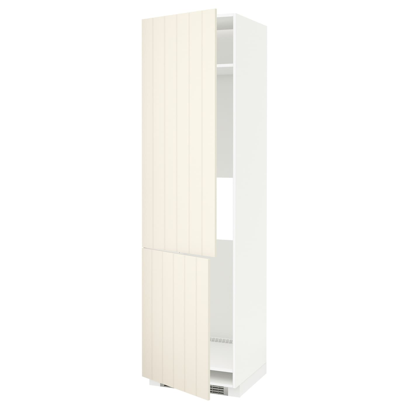 IKEA METOD high cab f fridge/freezer w 2 doors Sturdy frame construction, 18 mm thick.