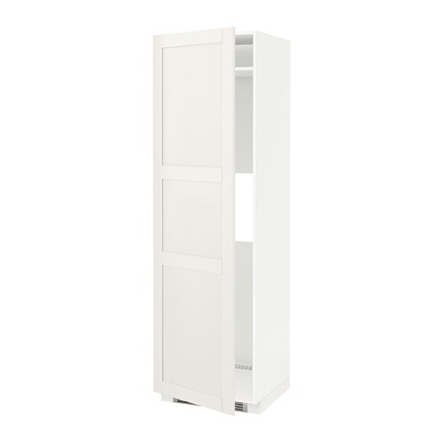 Metod high cab f fridge or freezer w door white s vedal for Ikea chest freezer
