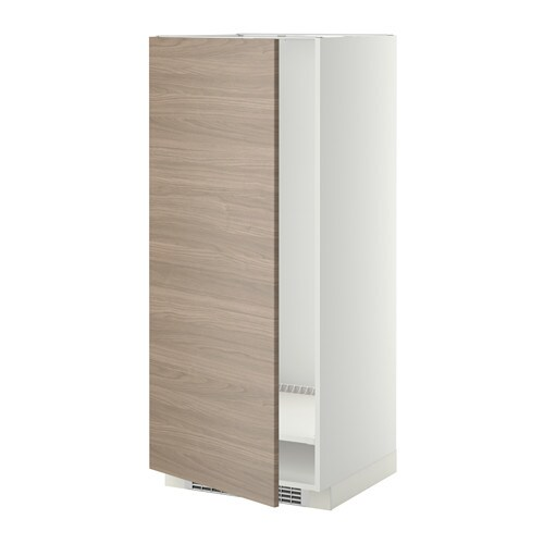 METOD High cabinet for fridge/freezer IKEA You can customise spacing as you need, because the shelf is adjustable.