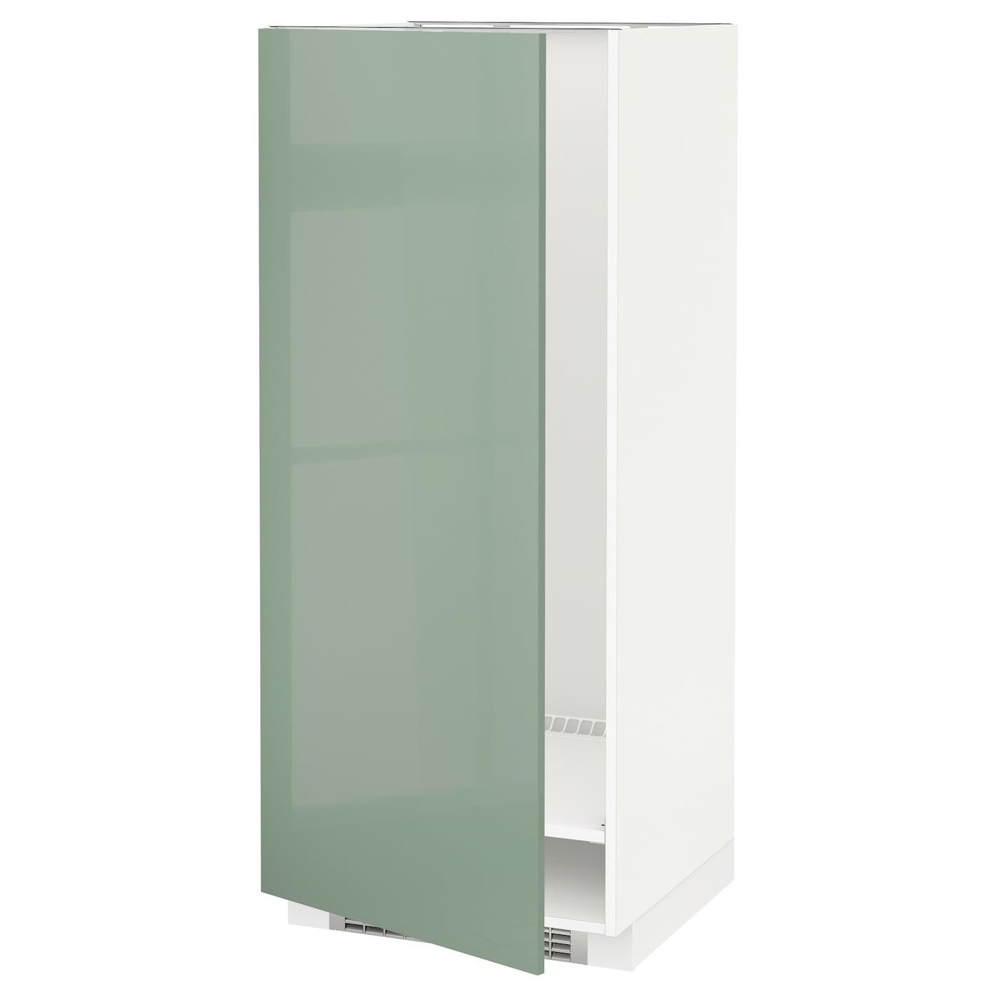 metod high cabinet for fridge freezer white kallarp light. Black Bedroom Furniture Sets. Home Design Ideas