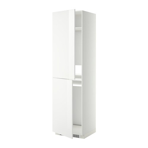 IKEA METOD high cabinet for fridge/freezer Sturdy frame construction, 18 mm thick.