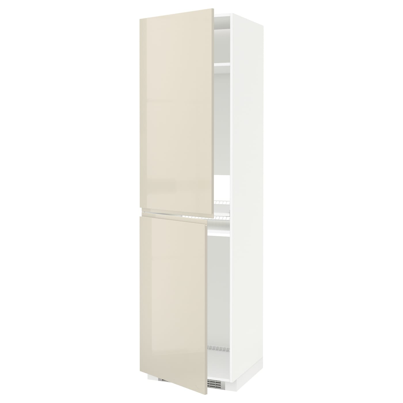 Metod High Cabinet For Fridge Freezer White Voxtorp High