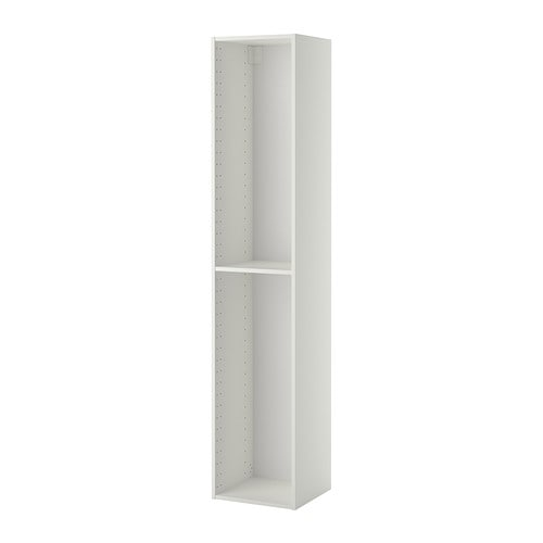 METOD High cabinet frame White 40x37x200 cm - IKEA
