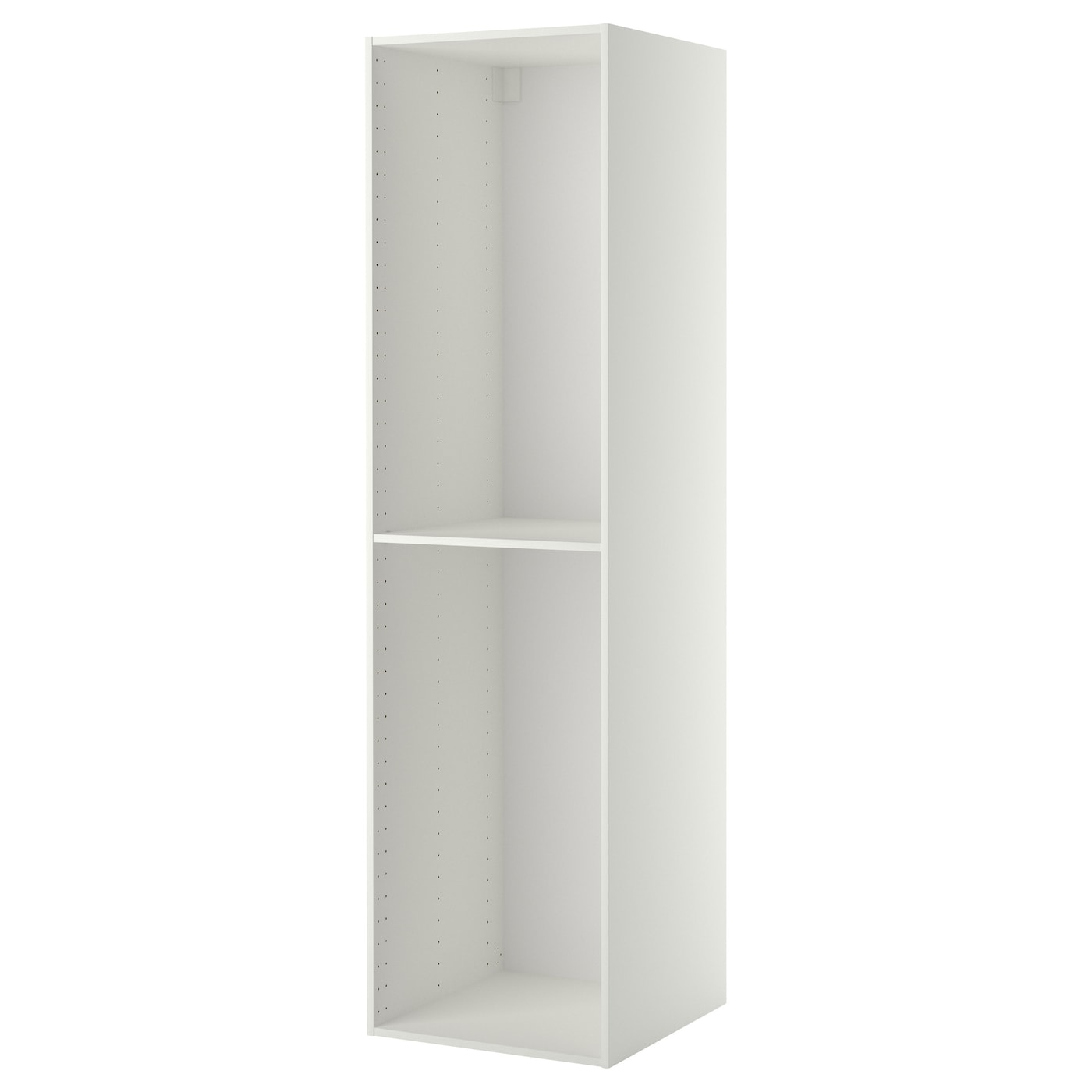 IKEA METOD high cabinet frame 1 reinforced shelf included; increases stability.