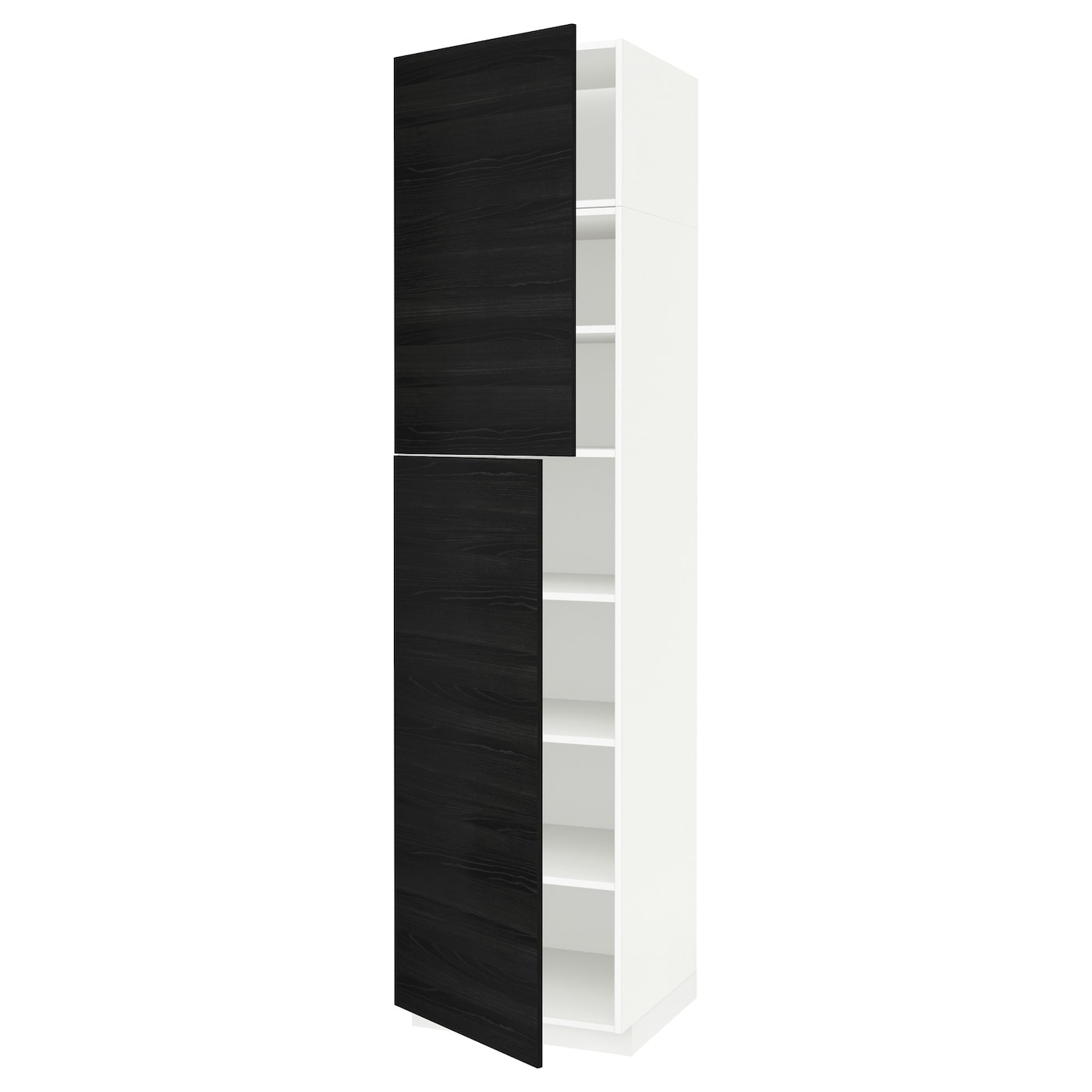 metod high cabinet with shelves 2 doors white tingsryd. Black Bedroom Furniture Sets. Home Design Ideas